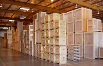 Wood Crate Packing